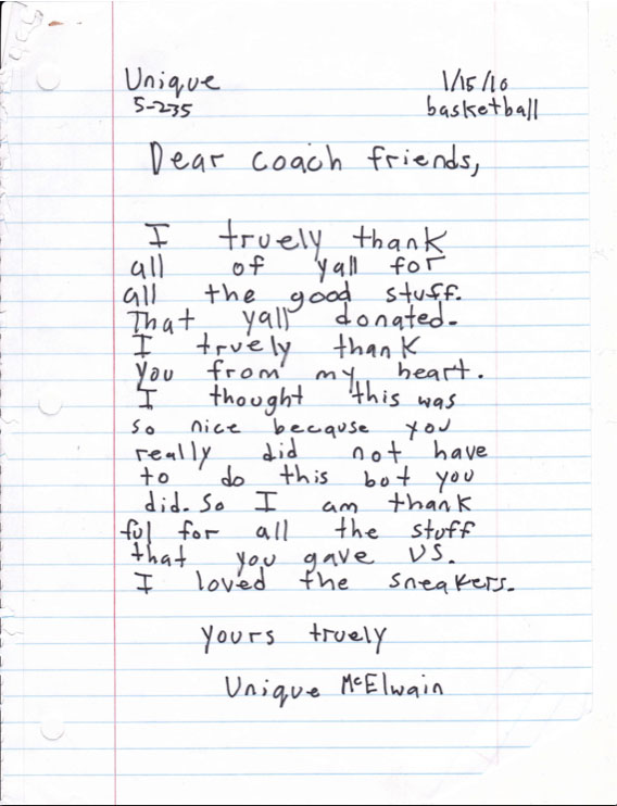 Sample thank you letters to coaches gallery letter format formal sample thank you letter coach image collections letter format thank you letter coach image collections letter expocarfo